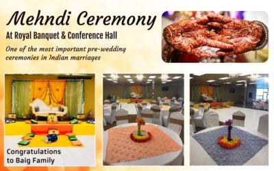Mehndi Ceremony At Royal Banquet & Conference Hall