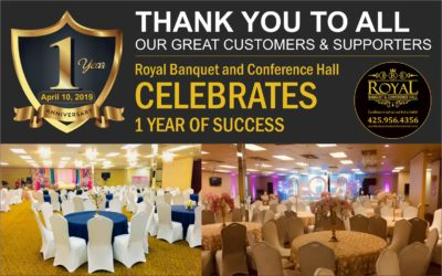 1st Anniversary – 10th of April 2019