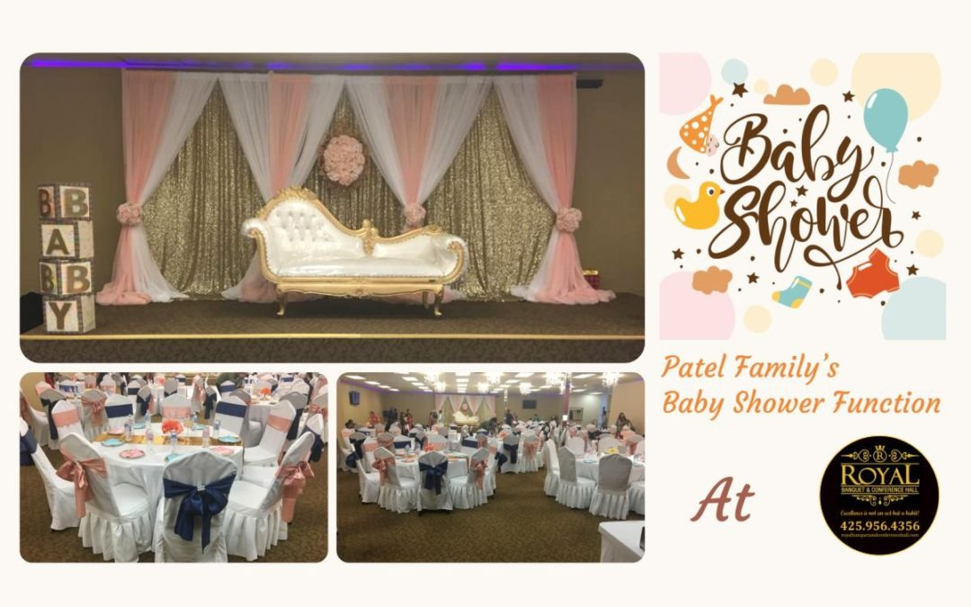 Patel Family's Baby Shower Party