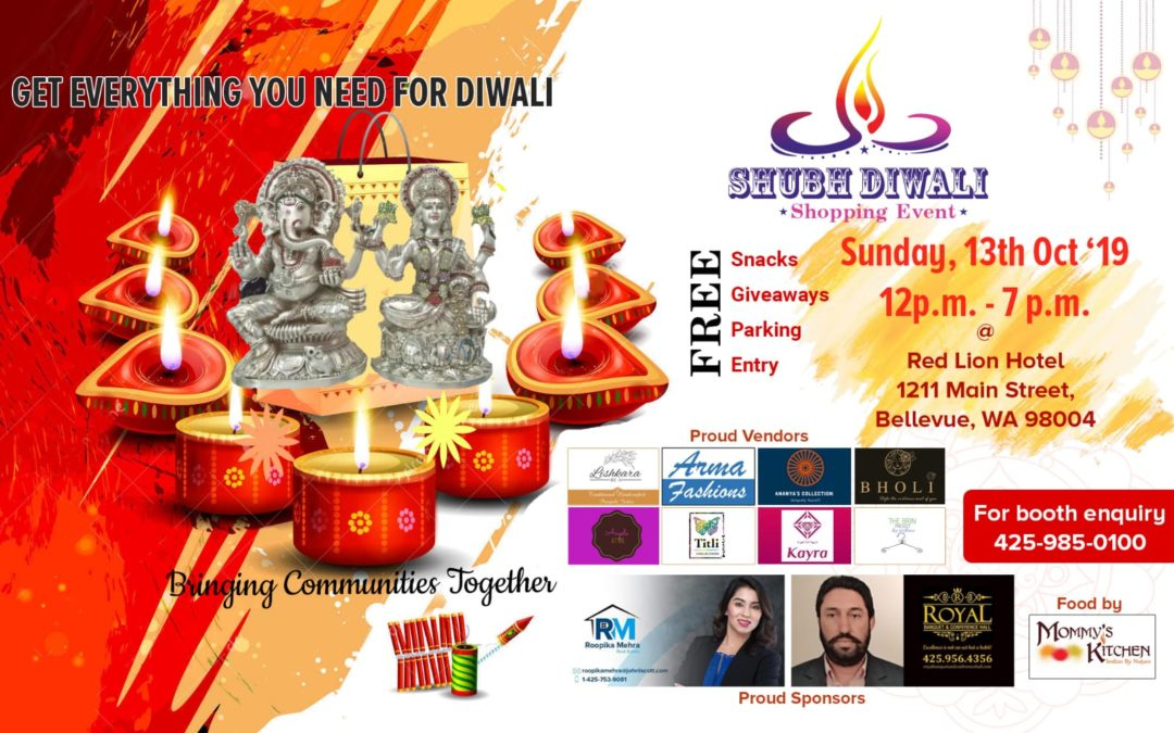 Shubh Diwali Shopping Event Sponsorship